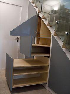 Closet Staircase