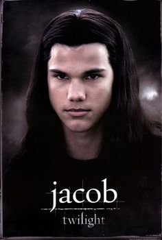 Twilight Domestic Poster, Closeup Of Jacob With Long Hair Above Logo, Twilight Jacob Domestic Poster, Twilight Posters/Wall Art, Twilight Merchandise Twilight Jacob, Film Twilight, Die Twilight Saga, Twilight Pictures, Twilight 2008, Nikki Reed, Best Movie Posters, Film Posters, Movie Shots