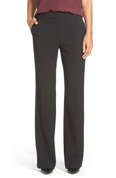 Ellen Tracy Slim Bootcut Trousers (Regular   Petite) available at  Nordstrom cfbb89a7db