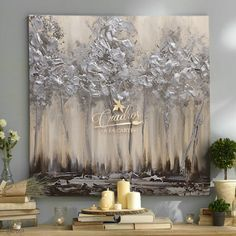 Decorative Paintings on Oil on Order. See the entire catalog Here: YOU irisgraciela arroyo Abstract Canvas Art, Canvas Wall Art, Silver Leaf Painting, Contemporary Paintings, Decorative Paintings, Texture Painting, Landscape Art, Diy Painting, Home Art