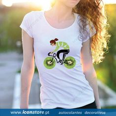 T-shirt Let´s ride (Mulher)
