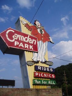 West Virginia's only amusement park, over 100 yrs. old Camden Park, located in Wayne county in (west ) Huntington, West Virginia