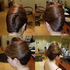 French Twist Updo, French Twists, Kevin Murphy, Coron, San Diego, Bun Hairstyles, Updo Hairstyle, Big Bun, Pretty Good