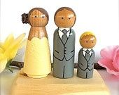 Items similar to Wedding Toppers Custom Bride and Groom with 2 Pets Large Personalized Wood Peg Dolls Peggies Dog Cat Animals Cute CreativeButterflyXOX on Etsy Wooden People, Wood Peg Dolls, Waldorf Dolls, Wedding Cake Toppers, Wavey Hair, Dog Cat, Groom, Bride, Pets
