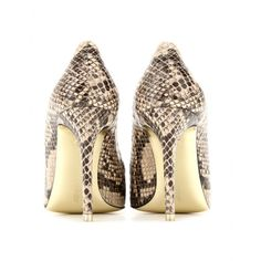 Pumps Mit Snakeprint Stella McCartney