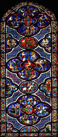 Chartres Cathedral - stained glass window