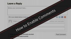 Once I had disabled the Facebook Comments plugin (it apparently can hurt your SEO) there was no option to leave comments on the older posts.  Here's how I fixed it.