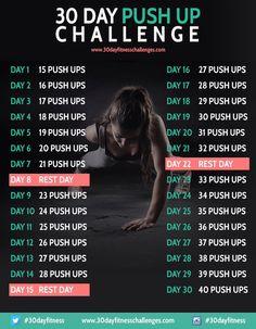 30 Day Push-up Challenge!!