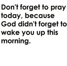 Always thank God for your blessings
