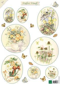 Mb0149 Mattie's Mooiste Flowers 2 (sprin - Mattie de Bruine A4 - Knipvellen - Hobbynu.nl