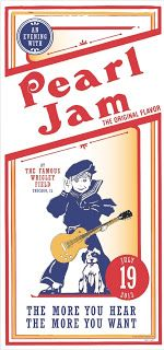 PEarl-Jam-Kevin+Schuss- Wrigley-Field-Poster CHICAGO, IL Fri 19 July, 2013