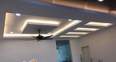 70 Modern False Ceilings with Cove Lighting Design for Living Room - DecOMG Ceiling Chandelier, Ceiling, False Ceiling Design, Ceiling Design, Diy Ceiling, Cove Lighting Design, Ceiling Beams, Cove Lighting, Living Room Designs