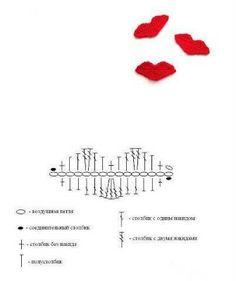 Patrones para Crochet: Patrones de Adornos Variados