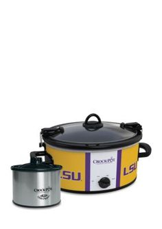 CrockPot  Louisiana State University CrockPot Slow Cooker with Lil Dip