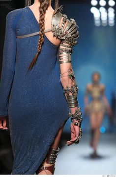 Armed and Dangerous ༺ Steampunk Gladiator ༻ From Jean Paul Gaultier's Spring 2010 Haute Couture Collection