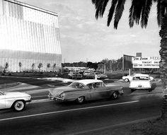 Van Buren Drive-in Movie Theater in Riverside, CA