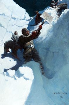 "shear-in-spuh-rey-shuhn: "" N. WYETH Unknown Oil on Canvas x "" Frederic Remington, Jamie Wyeth, Andrew Wyeth, Illustrations, Illustration Art, Brandywine River, Nc Wyeth, Historical Art, Treasure Island"