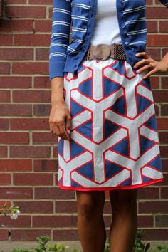 vintage pillowcase skirt | kojodesigns  Fantastic skirt, but what if your donk is bigger than pillow size? :D