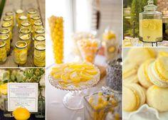 Hochzeitsdeko mit Zitronen | Friedatheres