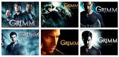 GRIMM Seasons 1-6, (2011-2017)