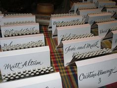 Matchbook Place Cards - Calligraphy | Flickr - Photo Sharing!
