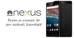 Huawei Nexus: From a rumor to an actual handset - UnlockUnit Blog