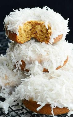 Coconut Cake Donuts