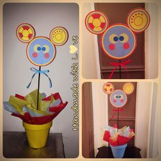 Mickey Mouse Clubhouse Toodles center piece