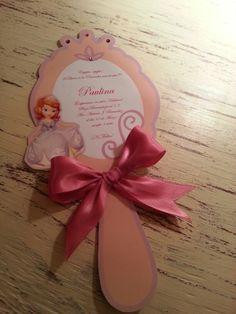 Invitaciones para tus princesitas !!