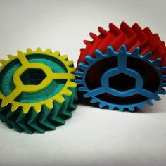 #3dprinter makes Automatic transmission model gears #airwolf3d