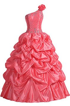 Sunvary 2014 Ball Gown Pageant Prom Dresses for Evening Quinceanera Gowns- US Size 2- Watermelon Sunvary http://www.amazon.com/dp/B00BSQBY4G/ref=cm_sw_r_pi_dp_rm73tb180S149JP4