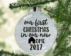 First Christmas In Our New Home Svg.Pinterest