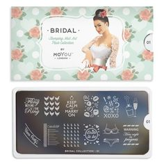 MoYou London Nail Art Image Plates are available in a range of styles & designs. Browse the affordable range at Nail Polish Direct.