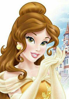 Belle Princesa Disney Bella, Bella Disney, Disney Princess Aurora, All Disney Princesses, Disney Princess Fashion, Disney Princess Drawings, Disney Princess Pictures, Disney Images, Disney Pictures