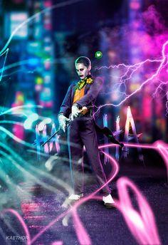 ArtStation - Jared Leto as The Joker - Digital Arts, Jesus Bonaguro van Kesteren