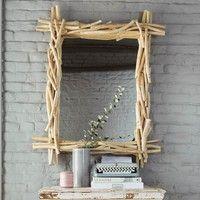 Spiegel aus Treibholz, H113 | Maisons du Monde