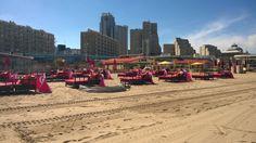 Scheveningse Strand in Den Haag