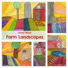 Beyond ROY G. BIV: Free Lesson Plan #5: The Farm at Sunrise Love the quote from Charlotte's Web