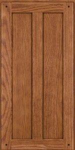 Abington Oak(TMKO6) Square Ginger W/ Sable Glaze