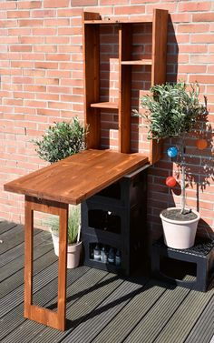Here you can discover outdoor bar ideas that satisfy your hopes as well as desires. Designing an outdoor bar is a lot enjoyable. Choose from these designs to make it easier! Patio Bar, Porch Bar, Backyard Bar, Backyard Furniture, Dream Furniture, Diy Outdoor Furniture, Bar Furniture, Diy Bar, Murphy Bar