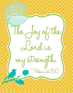 The Joy of the Lord is My Strength❤️