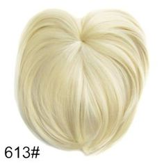Silky Clip-On Hair Topper Wig Heat Resistant Fiber Extension - Daily False Hair. 1 x Silky Clip-On Hair Topper. It is ahairpiece, not a full wig, anyone won't know you are wearing anything.Perfect solution to conceal thin hair, gray hair, hair loss. Wig Hairstyles, Straight Hairstyles, Fake Fringe, Hairpieces For Women, Short Straight Hair, Thin Hair, Long Hair, Magic Hair, Synthetic Hair Extensions