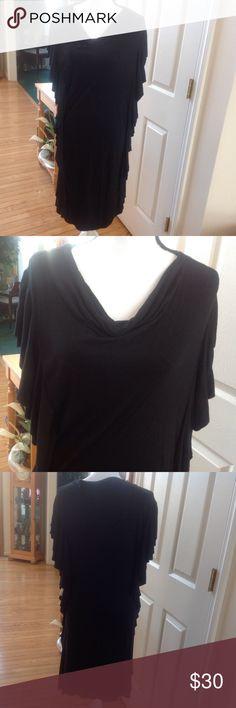 LOVELY BLACK PREMONITION DRESS BLACK PREMONITION DRESS, Size XL Premonition Dresses Midi