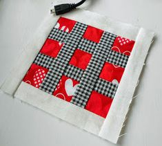 Block 37 - Hashtag Heart (#Heart) Block 37 on the Block-a-Day (BAD) project brings us to a quick and easy patchwork block – the Patchsm...