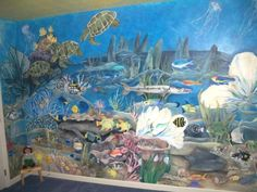 I painted this Mural over 6 years ago and it still inspires me for other projects.