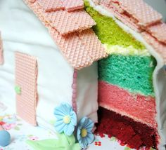 Little house cake