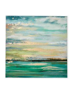 ELICO LTD Blue Infinity Foil Canvas
