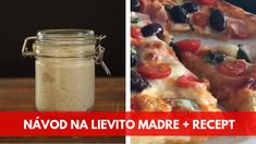 banner clanok lievito madre recept na pizzu s LM Ham, French Toast, Oatmeal, Breakfast, Recipes, Banner, Food, The Oatmeal, Morning Coffee