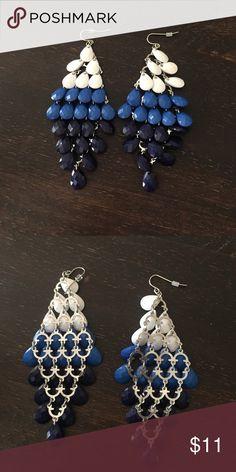 Ombré earrings Pretty statement earrings Jewelry Earrings