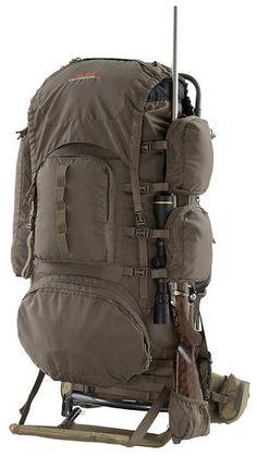 Redhead spike camp backpack